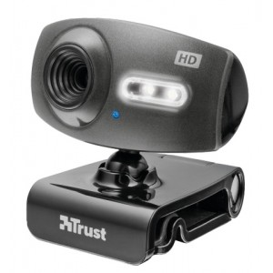 Webcam Trust Full HD ELIGHT 1080P con Micrófono y Led