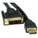 Cable HDMI-DVI 3MTS