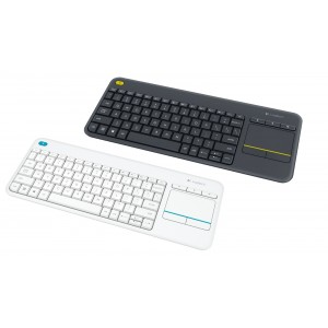 Teclado Wireless Touchpad Logitech K400 Plus
