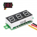 Voltímetro Display Led DC 0/100V Rojo