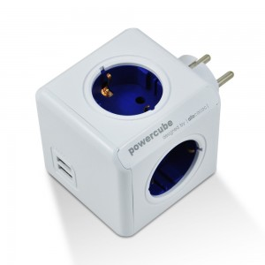 PowerCube Original USB Allocacoc Azul