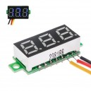 Voltímetro Display  DC 0-100V Led Azul 3 Hilos