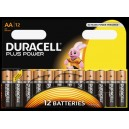 Pilas Duracell AA LR6 Plus Power Blister 12U