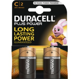 Pila Duracell C LR14 Plus Power Blister 2U