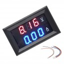 Voltimetro / Amperimetro Display Led Panel 0/100V DC