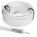 Cable Coaxial Antena TV 75Ω Pack 5Mts.