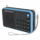 Radio FM Digital emGO 1505W MP3 USB 5V