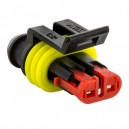 Conector AMP 2P Hembra IP67 Superseal 1.5
