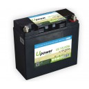 Batería Litio U-power Ecoline 12V 22Ah