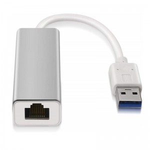 Adaptador USB 3.0 a Gigabit Ethernet Aisens c/ Cable
